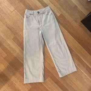 Canadian designer Harly Jae wide leg pants